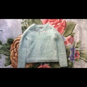 Blue girls sweater